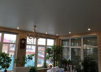Натяжной потолок в коттедж Подольск