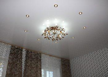 Натяжной потолок в гостиную Подольск