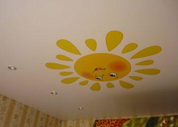 Натяжной потолок в детскую Подольск