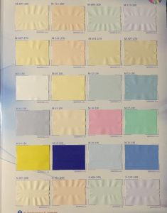 цветовая палитра для натяжных потолков для детской