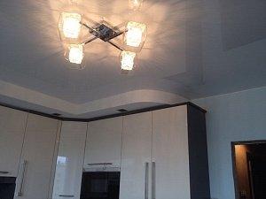 натяжные потолки на кухню монтаж недорого