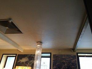 Установка и монтаж натяжных потолков в ресторан