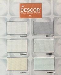 Цвета и фактуры натяжных полотен Descor