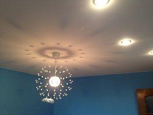 Потолочные люстры для натяжных потолков