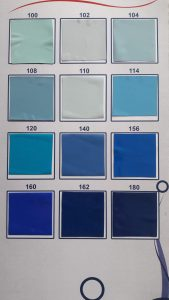 Голубой натяжной потолок цена от производителя