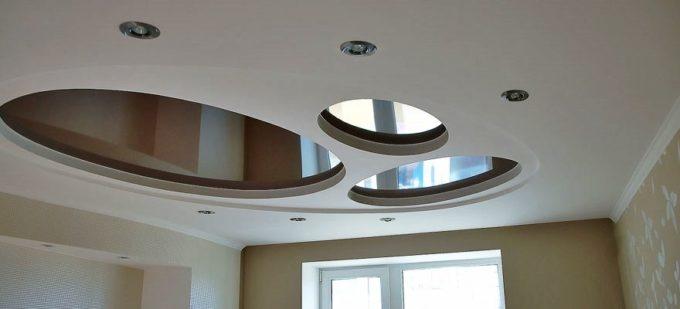 Особенности установки многоуровневых натяжных потолков