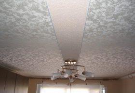 Тканевые натяжные потолки3