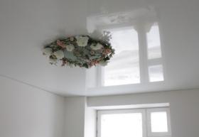 Однокомнатные натяжные потолки