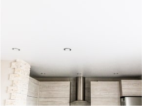Сатиновые натяжные потолки 2