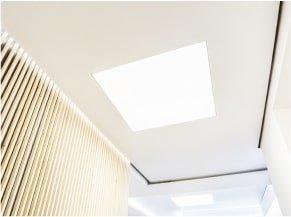 Натяжные потолки с подсветкой 3