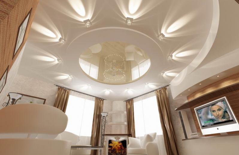 Как расположить светильники в комнате